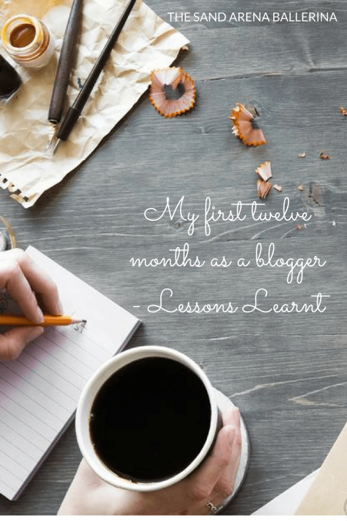 My first twelve months as a blogger - Lessons Learnt