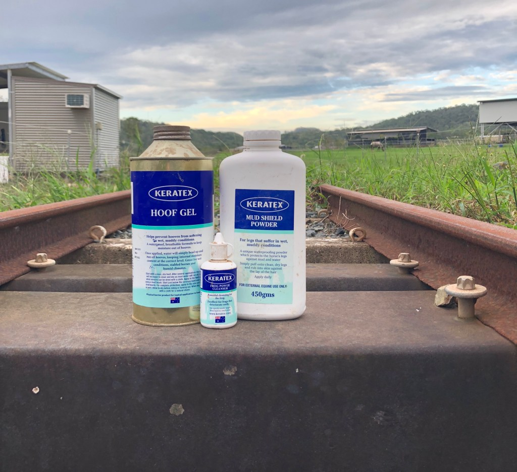 Keratex Wet weather products to keep your horses legs and hooves healthy