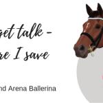 Budget Talk – Where I save