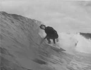 grayscale Surf Culture-Todd Roberts Surfing in 1980 PHOTO BY ROBERTS