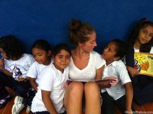 Vandenberg reading to school children