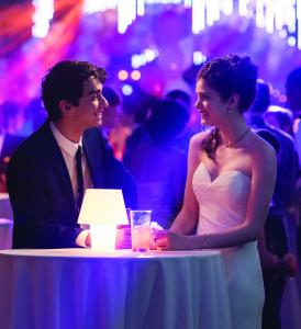 Paris (Elena Kampouris) Toula and Ian's daughter flirting with a classmate at her prom. Courtesy of Universal Studios.