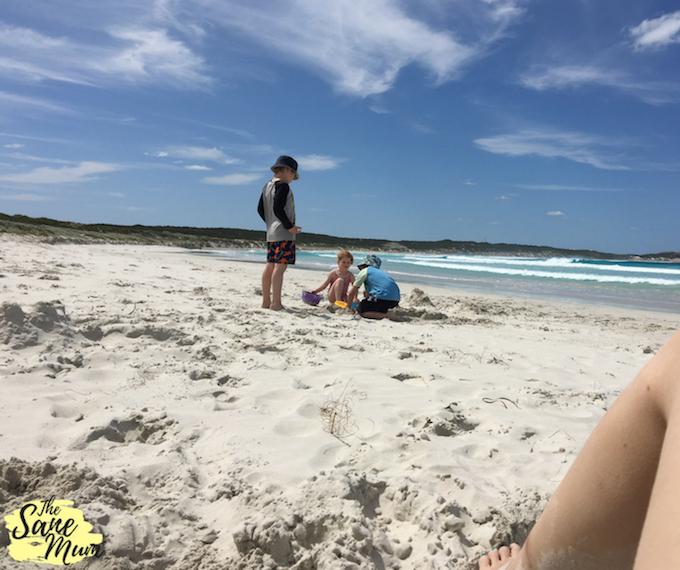 Minimalist Mum - The Sane Mum Beach