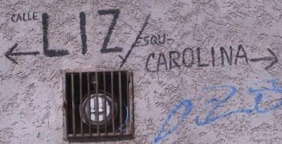 Las Calles Liz y Carolina