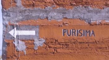 Calle Purisima (dirección única)