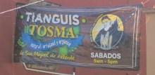 "New location of the Saturday ""organic"" market"