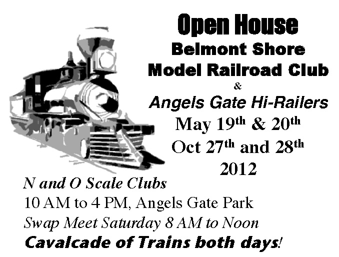 All aboard! Model Railroad Club open house & swap meet