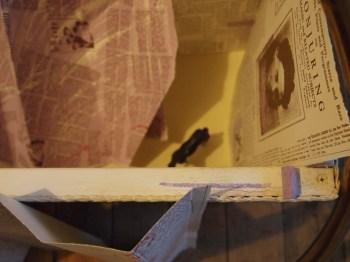 installation, screenprint, box, hoop, plastic horse, mirror & chalk, 2011