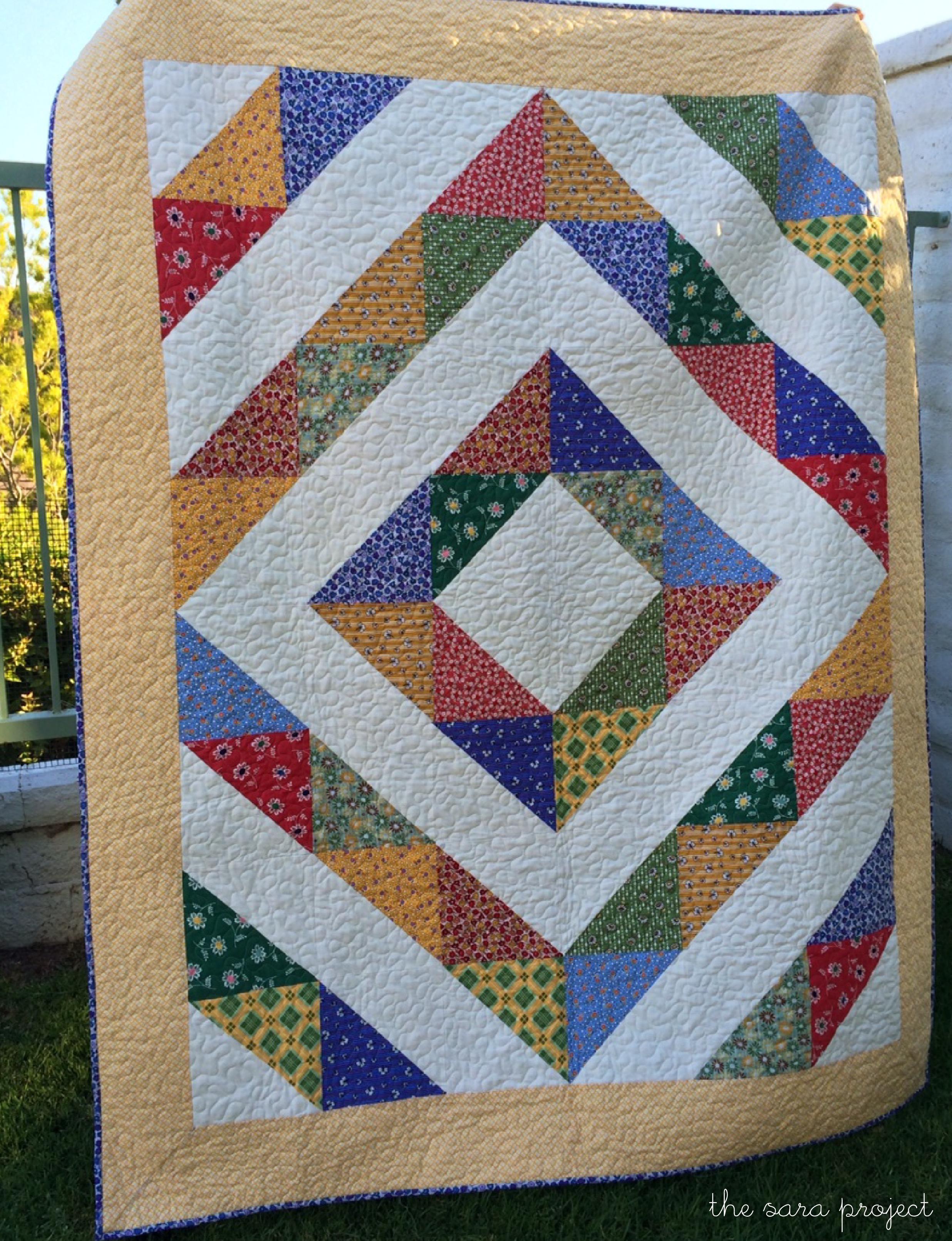 Diamond A Quilt Pattern