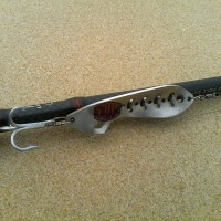This is the MYDO SS Spoon Shad in 3.2mm Stainless Steel specification 316 marine grade.