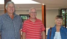 Gordon Wood, Mike Kanerman and Val Kanerman (Pennington).