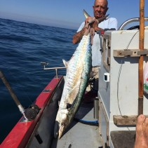 Koos Viviers has had long relationship with big couta on the KZN South Coast
