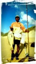 Champion angler Samuel