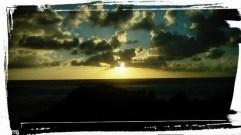 Sunrise over the Dragon's back