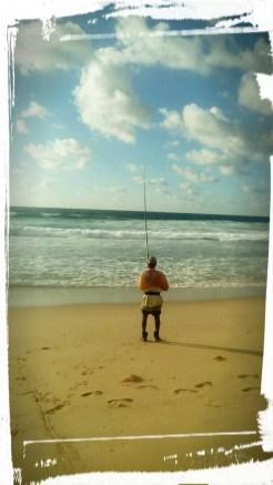 The very happy fisherman