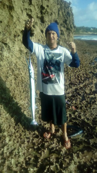 Garfish are a highly aggressive and exciting fish to catch in the surf zone