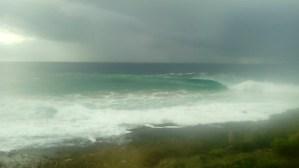 Barra surf fishing