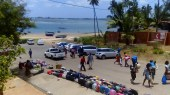 The view from Xai Xai across to Inhambane City