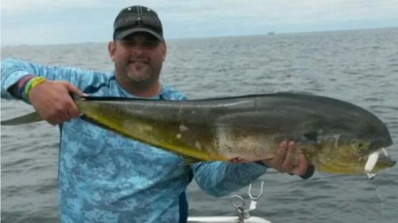 JP's Dorado on Mydo Luck Shot Mini #2 dropshot fishing