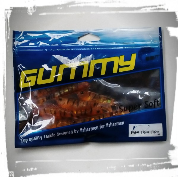 GUMMY Holographic Minnow Paddletail 3 inch