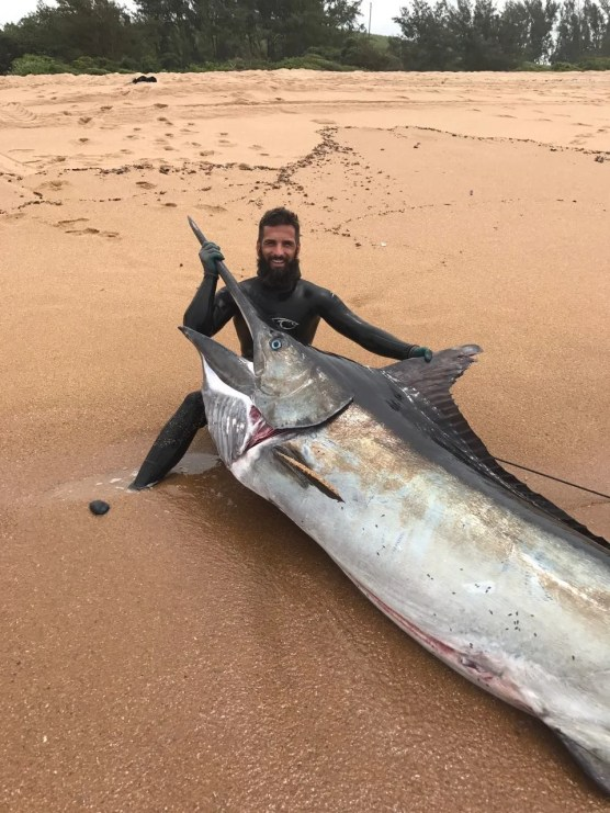 SA Spearfishing record for marlin