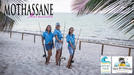 The Vilankulos Sailfish ladies team are amping on the trophy this 2017