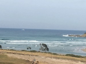 Fishing Trawler spotted trawling at Mdumbi!