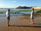 Grant Gilmour and Chad Leavitt discuss the paddle out