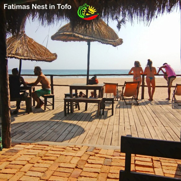Fatimas for breakfast in Tofo starts at 7am