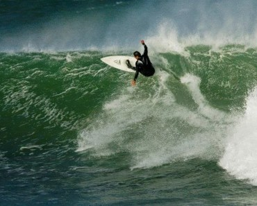 Shaun Tomson from South Africa - new inductee into the South African Hall of Fame, ripping JBay the way we all know him