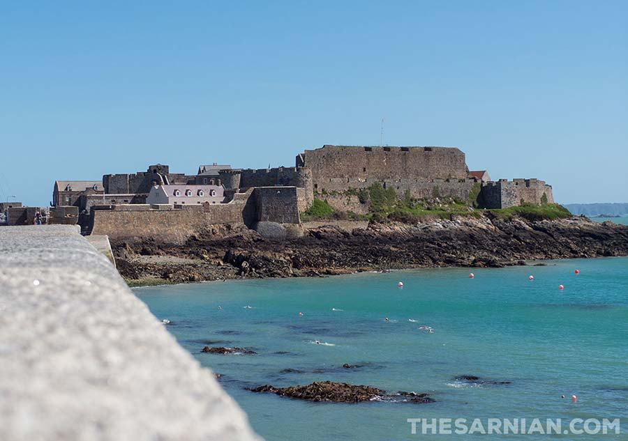 Castle Cornet, St Peter Port, Guernsey, where someone who survived a duel might be imprisoned
