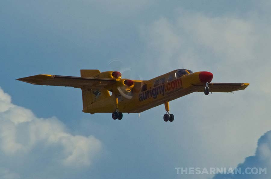 G-JOEY Trislander aircraft