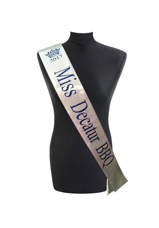 Cheap Custom Sashes Personalized Sash Embroidered Sashes