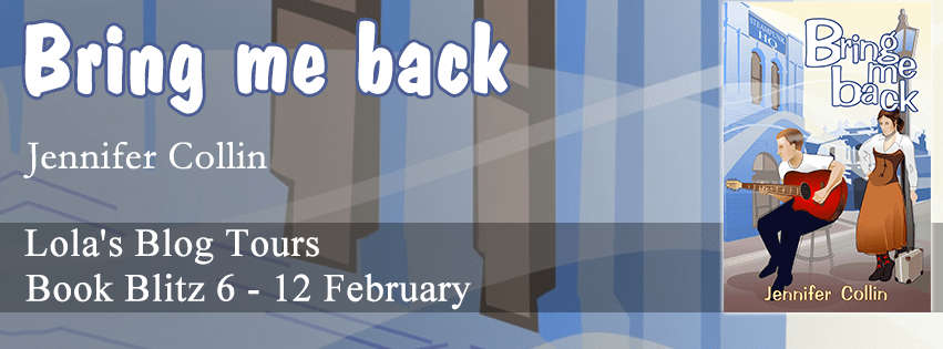 BRING ME BACK by Jennifer Collin: Book Blitz