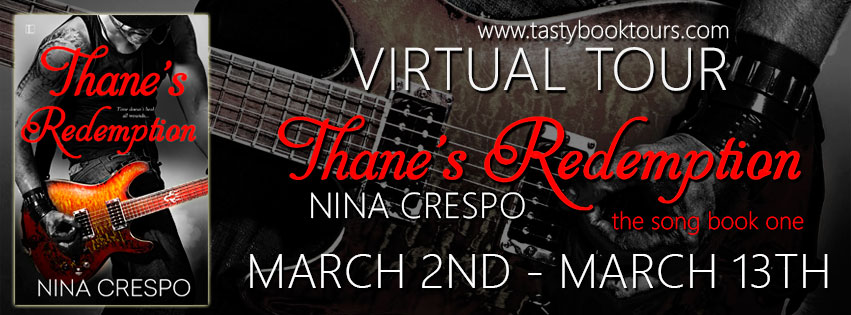 THANE'S REDEMPTION by Nina Crespo: Excerpt & Giveaway