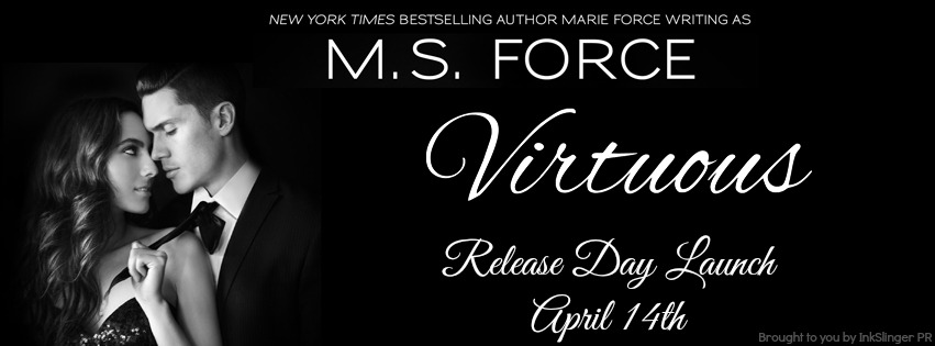 VIRTUOUS by M. S. Force: Release Day Launch & Giveaway