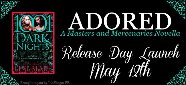 ADORED by Lexi Blake: Release Day Launch