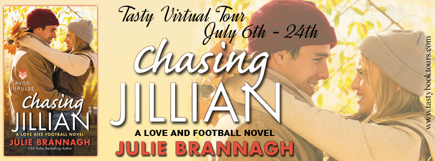 CHASING JILLIAN by Julie Brannagh: Excerpt & Giveaway