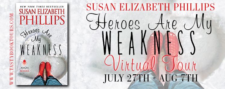 HEROES ARE MY WEAKNESS by Susan Elizabeth Phillips: Excerpt