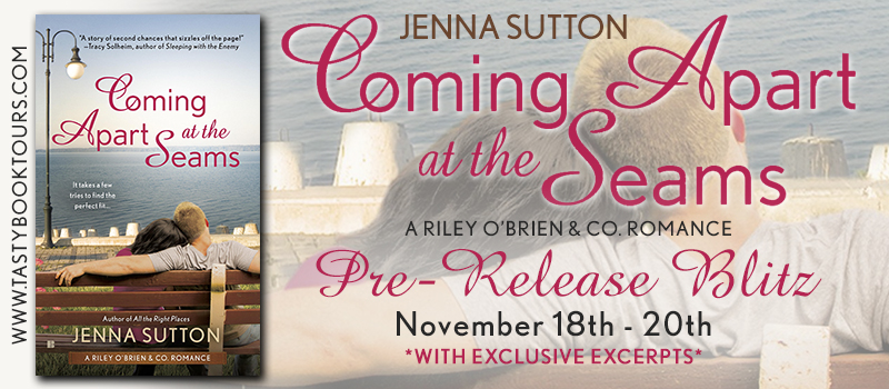 COMING APART AT THE SEAMS by Jenna Sutton: Pre-Release Blitz