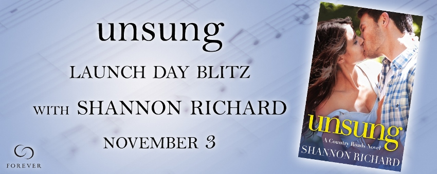 UNSUNG by Shannon Richard: Launch Day Blitz & Review
