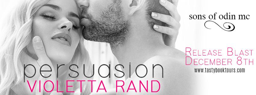 PERSUASION by Violetta Rand: Release Blast
