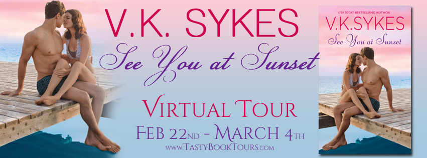 SEE YOU AT SUNSET by V.K. Sykes: Excerpt & Giveaway