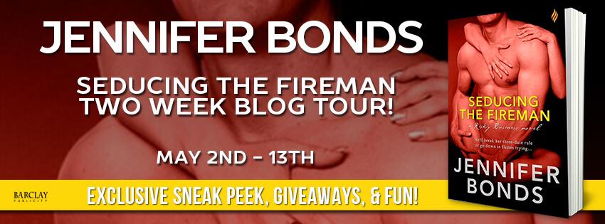 SEDUCING THE FIREMAN by Jennifer Bonds: Review, Excerpt & Giveaway