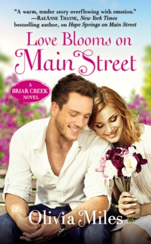 LOVE BLOOMS ON MAIN STREET by Olivia Miles: Review, Excerpt & Giveaway