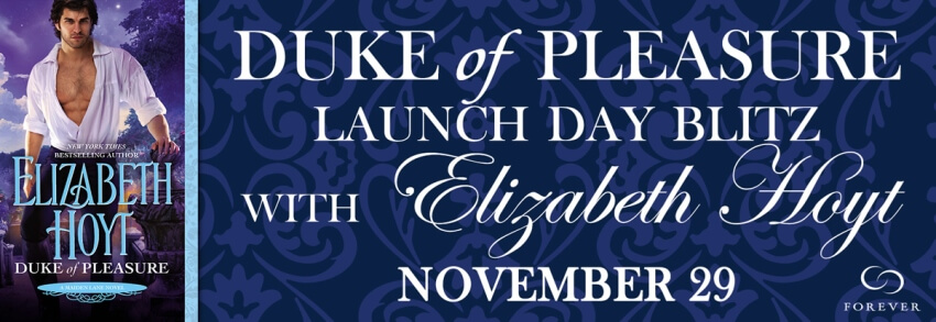 DUKE OF PLEASURE by Elizabeth Hoyt: Release Blitz