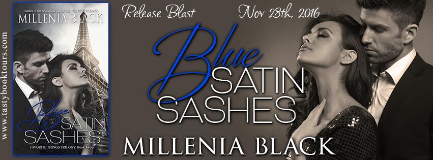 BLUE SATIN SASHES by Millenia Black: Release Spotlight