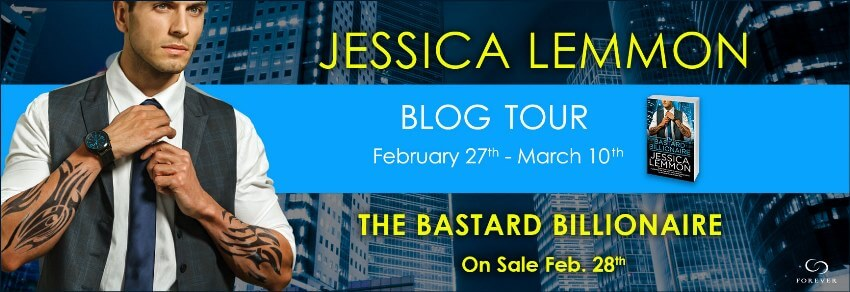THE BASTARD BILLIONAIRE by Jessica Lemmon: Review