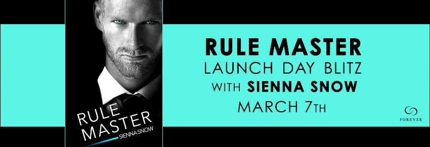 RULE MASTER by Sienna Snow: Release Spotlight, Excerpt & Giveaway