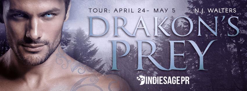 DRAKON'S PREY by N.J. Walters: Excerpt & Giveaway